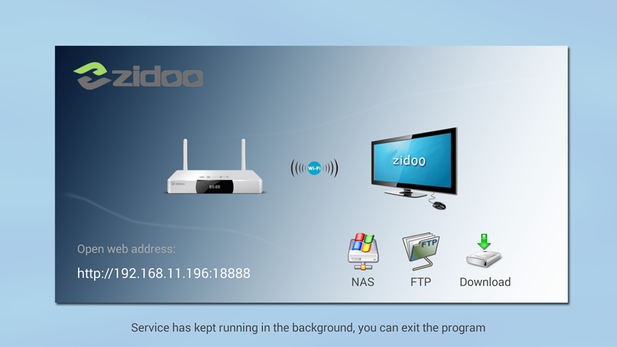 The NAS kit for ZIDOO X9 Release