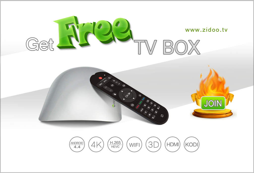 Get a free android tv box